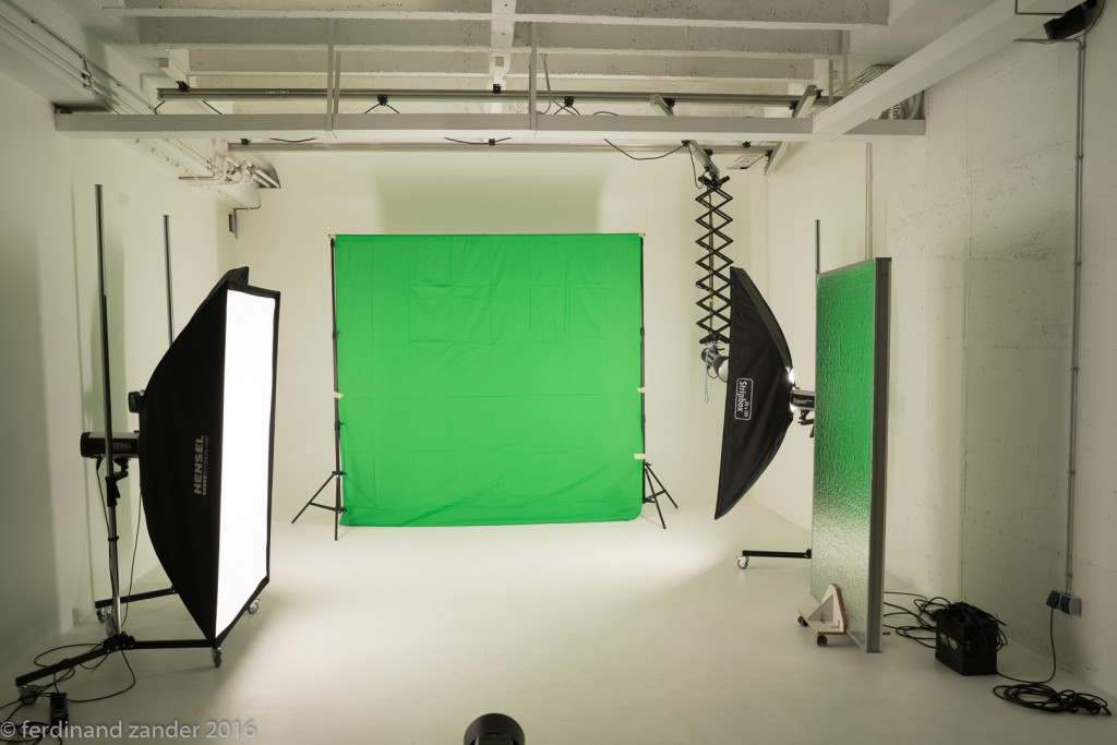 Green Screen Shooting